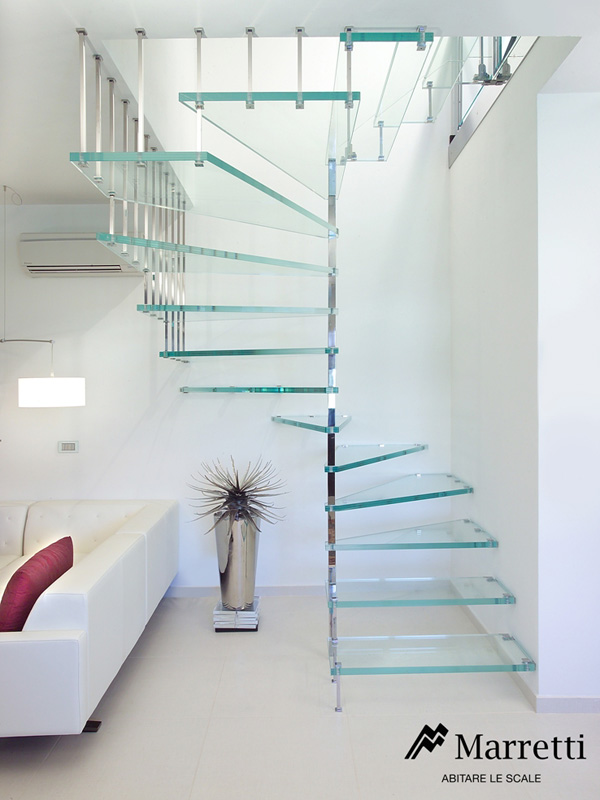 Stainless Steel And Glass Spiral Staircase U2013 Skywalk