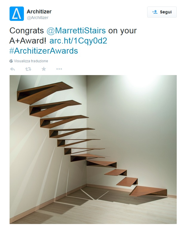marretti-win-the-award-architizer-with-origami-staircase