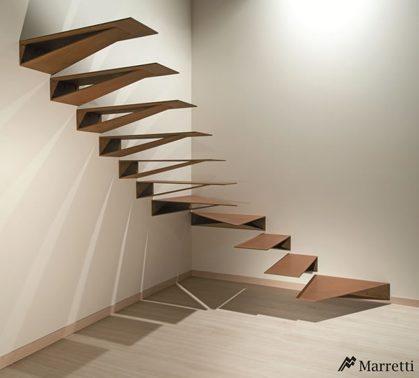 Origami stair by Marretti